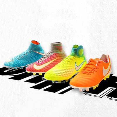 Botas de fútbol Nike para mujer