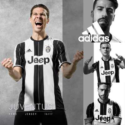 Equipaciones oficiales niño de la Juventus
