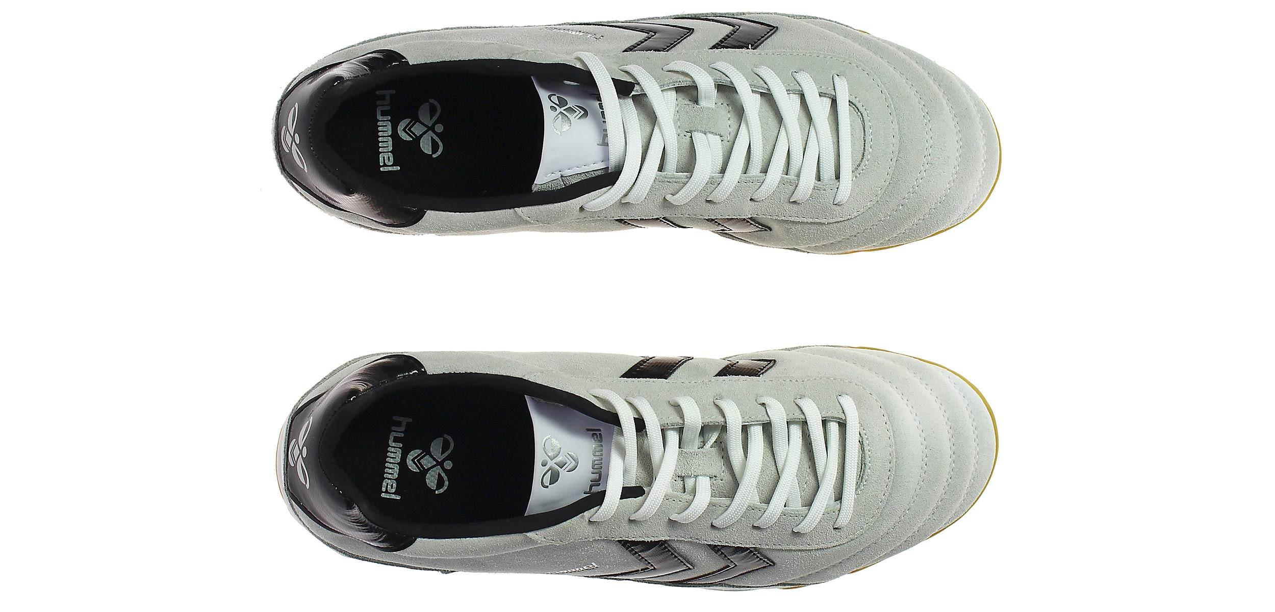 Zapatillas de fútbol sala Hummel Old School DK Futsal Suede - Gris - 613129124-OLD SCHOOL DK FUTSAL SUEDE