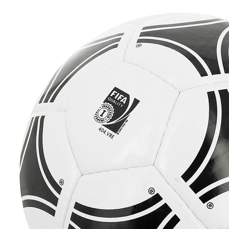 Balón de fútbol adidas Tango Rosario T-4 - Blanco / Negro - detalle