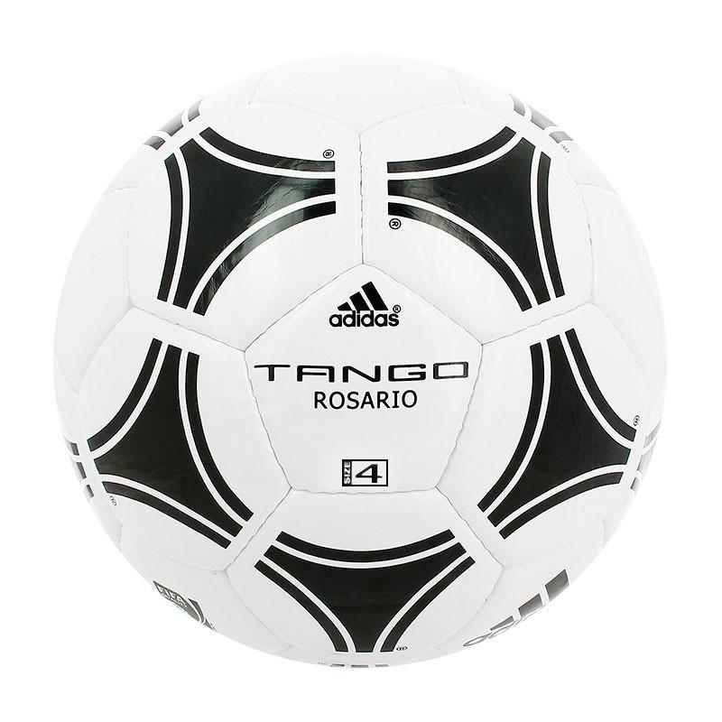 Balón de fútbol adidas Tango Rosario T-4 - Blanco / Negro - frontal