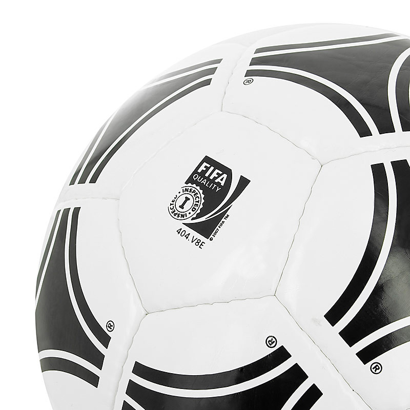 Balón de fútbol adidas Tango Rosario T-5 - Blanco / Negro - detalle