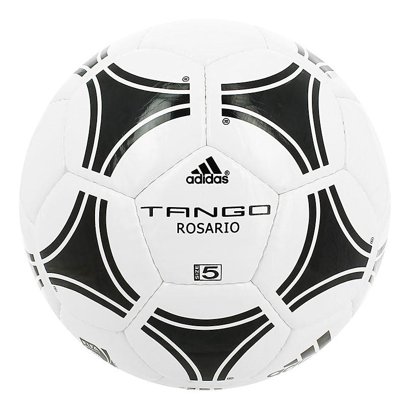 Balón de fútbol adidas Tango Rosario T-5 - Blanco / Negro - frontal