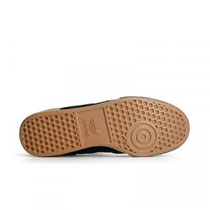 adidas Munidal Goal - Zapatillas de fútbol sala de piel de canguro adidas suela lisa - Negro - Suela pie derecho