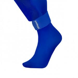 Sujeta espinilleras Uhlsport - Azul - detalle