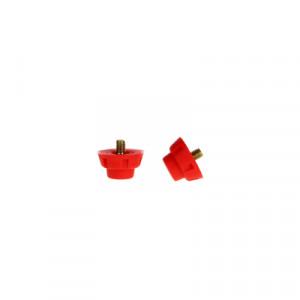 Tacos de recambio sintético 12 Uds Uhlsport - Rojo - 1007005010200-TACOS PS 3 hardground