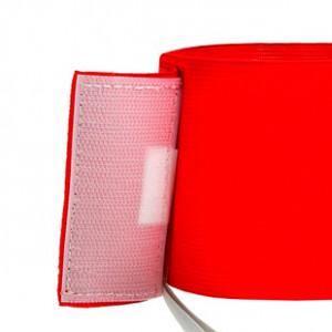 Brazalete de capitán Arquer - Rojo - trasera detalle cierre