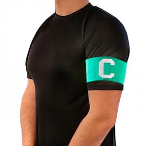 Brazalete de capitán Arquer - Verde - frontal