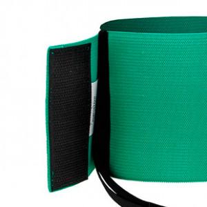 Brazalete de delegado Arquer - Verde - detalle cierre