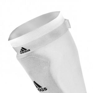 Sujeta medias adidas - Blanco - detalle frontal