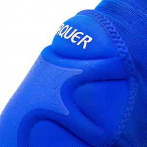 Rodilleras acolchadas Arquer - Azul - detalle textura