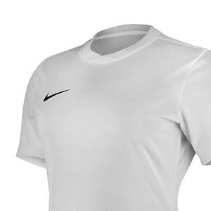 Camiseta Nike Park VI mujer  - Blanco - detalle