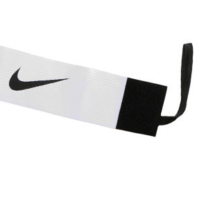 Brazalete de capitán 2.0 - Distintivo capitán equipo Nike - Blanco - frontal