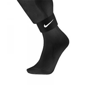 Cinta sujeta espinilleras Nike - Sujeta espinilleras Nike Negro - frontal