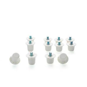 Tacos recambio nylon 12 unidades - 8 unidades de 13 mm y 4 unidades de 16 mm - conjunto