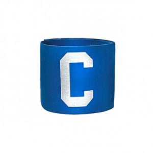 Brazalete de capitán infantil 30 cm - Brazalete de capitán niño - azul - frontal