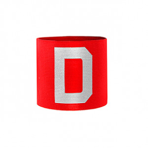 Brazalete de delegado Arquer - Rojo - frontal