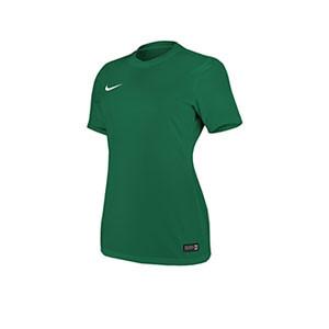 Camiseta Nike Park VI mujer  - Verde - frontal