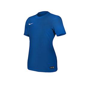 Camiseta Nike Park VI mujer  - Azul - frontal