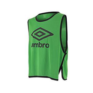 Peto Umbro Hunter - Peto de entrenamiento de fútbol Umbro - Verde - frontal