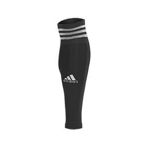 Medias sin pie adidas Team 18 - Medias de fútbol adidas Team 18 sin pie - Negro - frontal