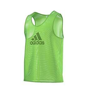 Peto entreno adidas - Peto de entrenamiento de fútbol adidas - Verde - frontal