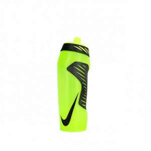 Botellín Nike Hyperfuel  - Amarillo flúor - frontal