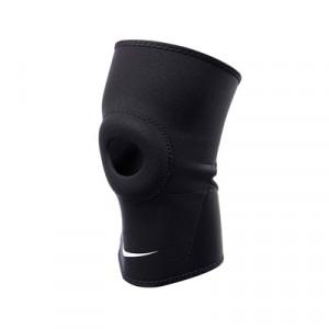 Rodillera con abertura en la rótula Nike 2.0 - Negro - frontal