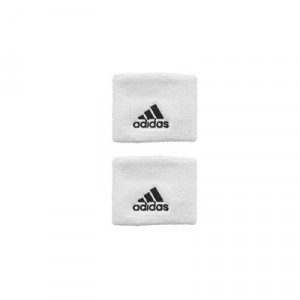 Muñequera básica adidas - Blanco - Z43424-adidas muñequera básica