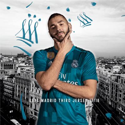 3ª equipación Real Madrid 17/18
