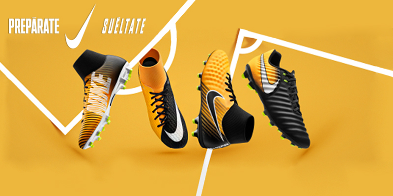 Botas fútbol Nike