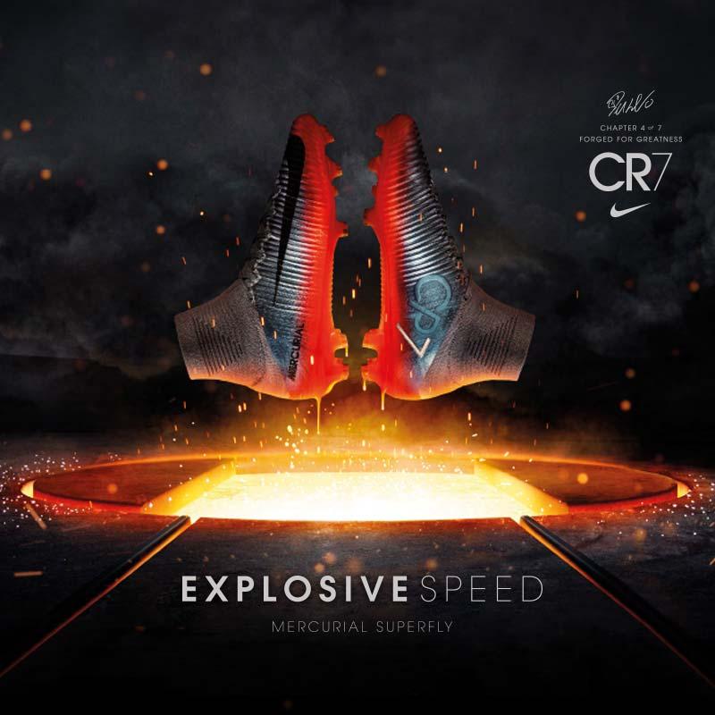 Nuevas botas Nike Mercurial CR7
