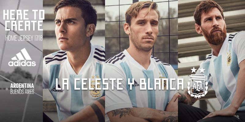 Equipación Argentina