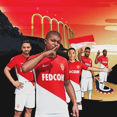 AS Monaco 17/18