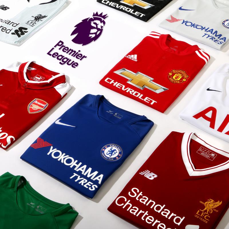 Equipaciones oficiales Premier League