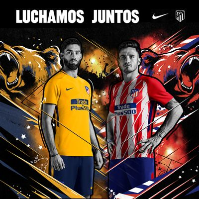 Atlético Madrid 17/18 niño