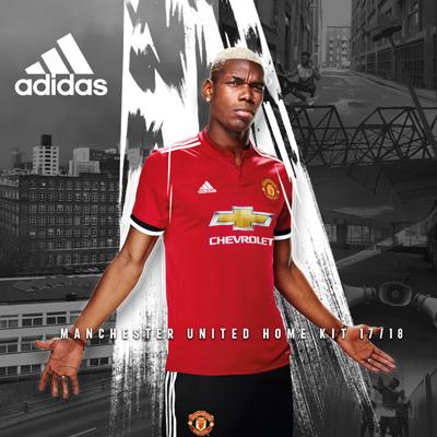 Man.United 17/18 niño