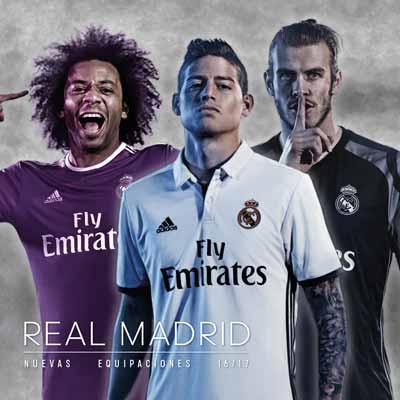 Equipaciones R.Madrid