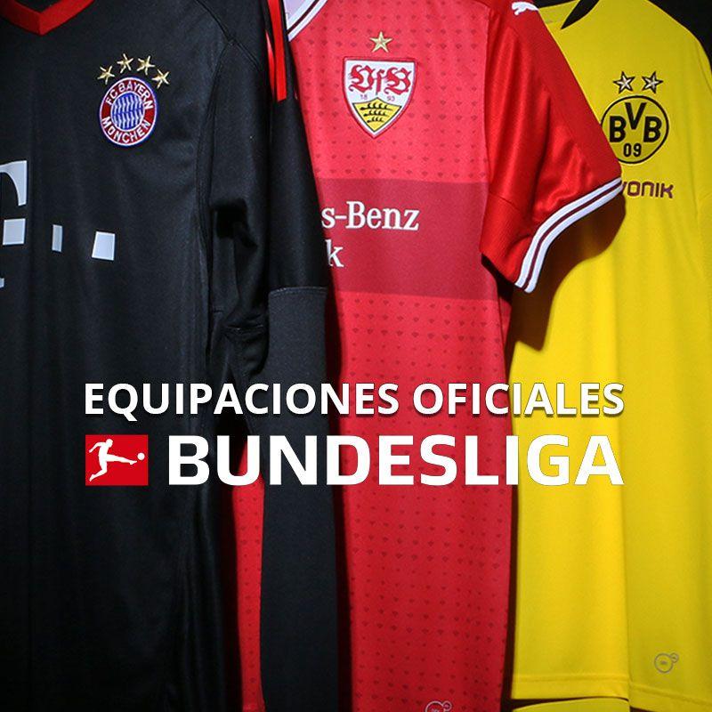 Equipaciones oficiales Bundesliga