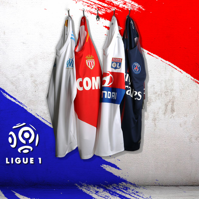 Equipaciones oficiales Ligue 1