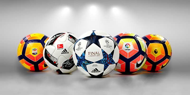 Balones oficiales fútbol