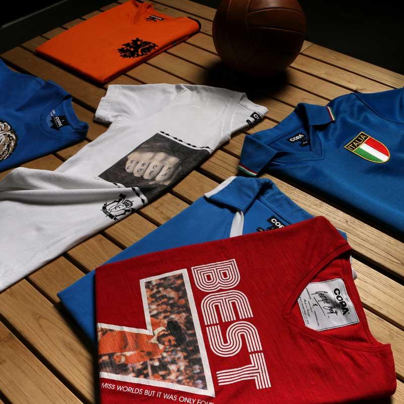 Camisetas retro de fútbol