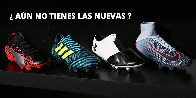 Últimas colecciones botas fútbol