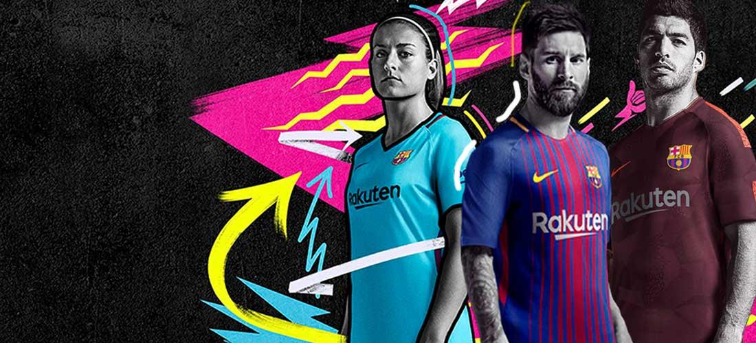Equipaciones oficiales del FC Barcelona