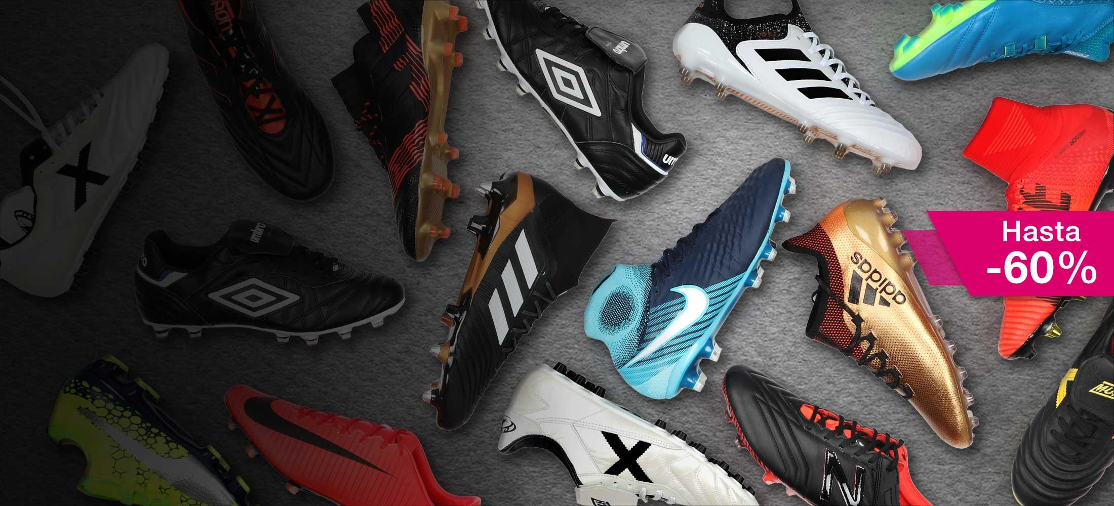Rebajas en botas de fútbol