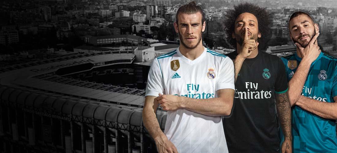 Equipaciones y productos oficiales del Real Madrid