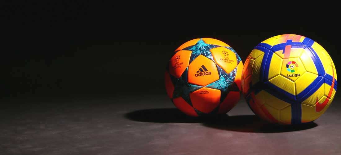 Balones fútbol de alta visibilidad