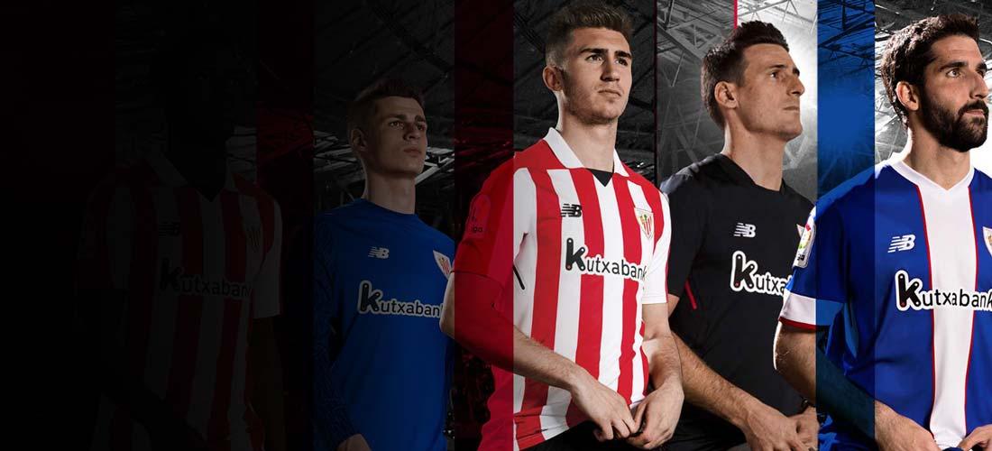 Equipaciones y productos oficiales del Athletic Club de Bilbao