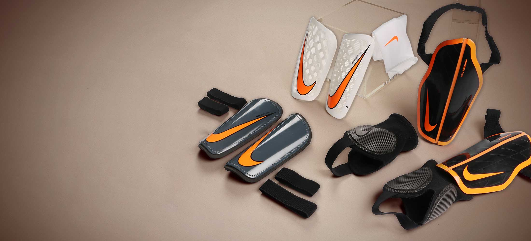 Espinilleras de fútbol Nike