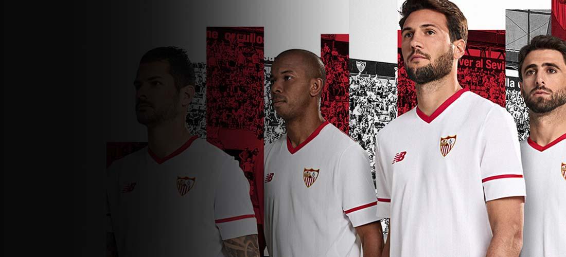 Equipaciones y productos oficiales del Sevilla FC